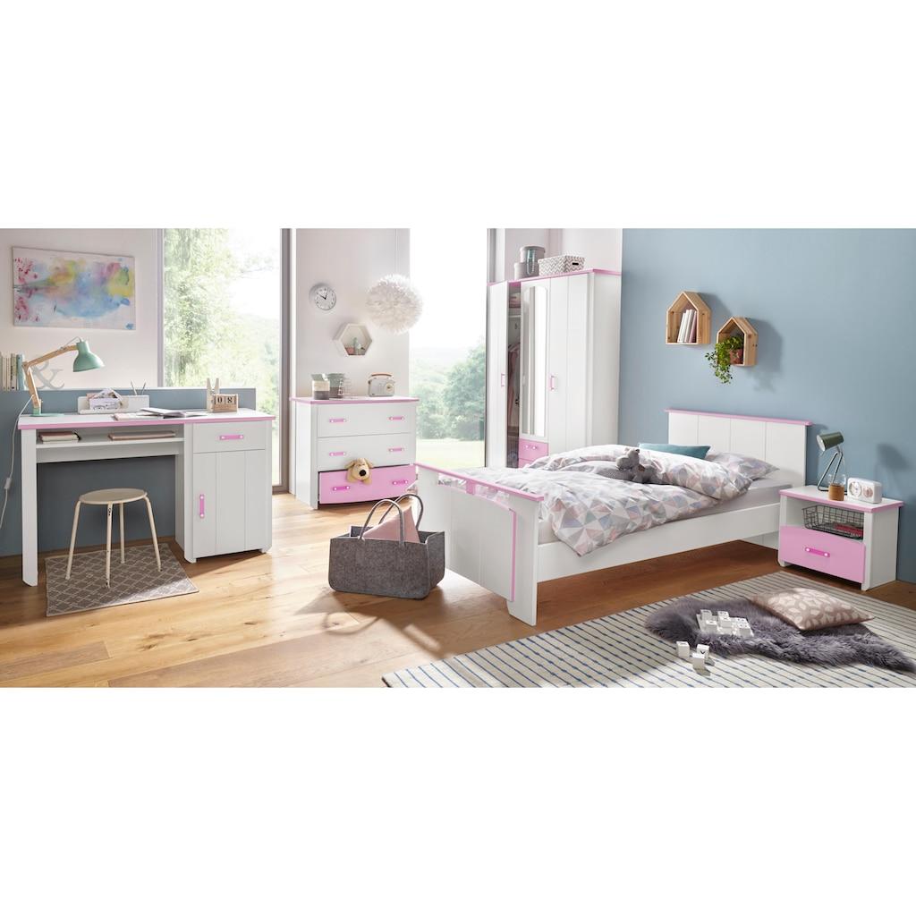 Parisot Jugendzimmer-Set »Biotiful«, (Set, 4 St.), mit 3-trg. Kleiderschrank