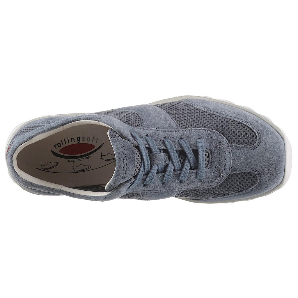 Gabor Rollingsoft Keilsneaker, mit Mesh-Einsätzen