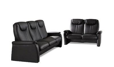 sit&more Polstergarnitur, Set bestehend aus 3- und 2- Sitzer, 3-Sitzer mit Bettfunktion kaufen