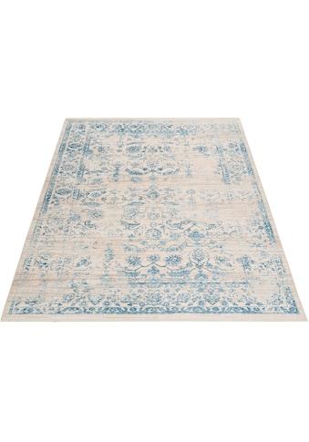 andas Teppich »Dilara«, rechteckig, 5 mm Höhe, Vintage Design, mit Fransen, Wohnzimmer kaufen