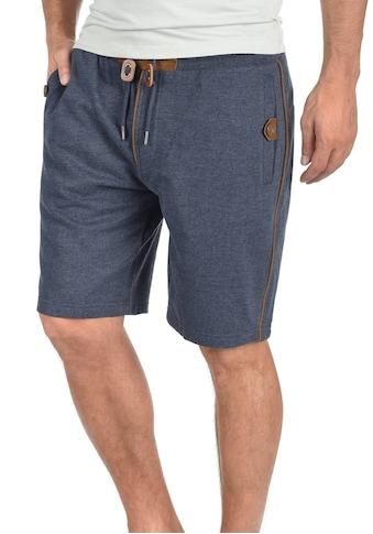 Blend Sweatshorts »Felix«, kurze Hose mit Lederdetails kaufen