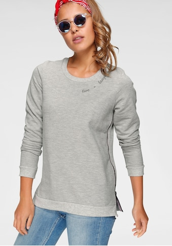 Ocean Sportswear Sweatshirt, mit Reissverschlüsse seitlich am Saum kaufen