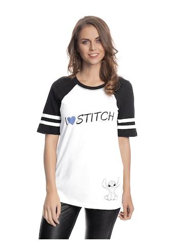 Disney T - Shirt »Lilo & Stitch I Heart Stitch« kaufen