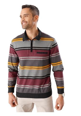 Poloshirt im attraktivem Streifen - Muster kaufen