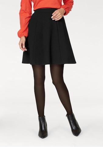 Aniston SELECTED Jerseyrock, mit Struktur kaufen