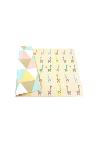 BabyCare Spielmatte »Giraffe in Love, 185 x 125 cm« kaufen