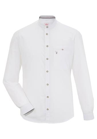 Trachtenhemd mit Stehkragen kaufen