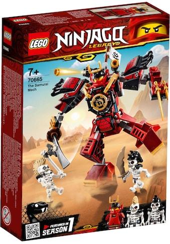 "LEGO® Konstruktionsspielsteine ""Samurai - Roboter (70665), LEGO® NINJAGO®"", Kunststoff, (154 - tlg.) kaufen"