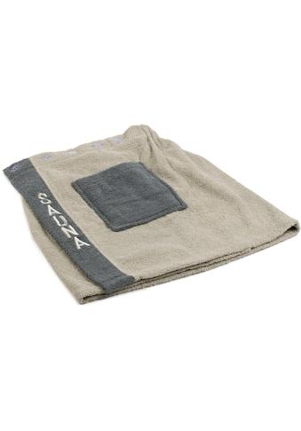 Gözze Kilt »Herren Wellness Sauna«, mit verstellbaren Knöpfen und aufgesetzter Tasche kaufen