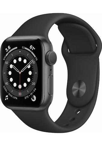Apple Smartwatch »Apple Watch Series 6 GPS, Aluminium Gehäuse, 40 mm mit Sportarmband«,  kaufen