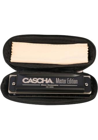 Cascha Mundharmonika »Master Edition Blues in G-Dur«, inkl. Soft Case und Pflegetuch kaufen