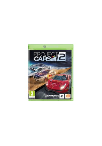 BANDAI NAMCO Spiel »Project CARS 2«, Xbox One X, Standard Edition kaufen