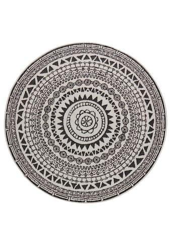 Teppich, »Coron«, bougari, rund, Höhe 5 mm, maschinell gewebt kaufen