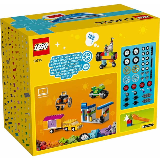 "LEGO® Konstruktionsspielsteine ""Kreativ-Bauset Fahrzeuge (10715), LEGO® Classic"", Kunststoff, (442-tlg.)"