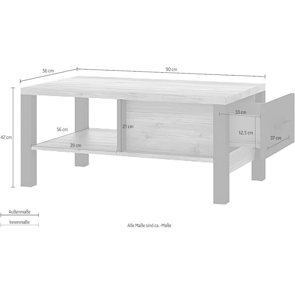 TRENDMANUFAKTUR Couchtisch »Olin«, Breite 90 cm