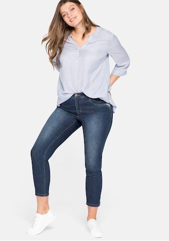 Sheego Stretch-Jeans, Skinny kaufen