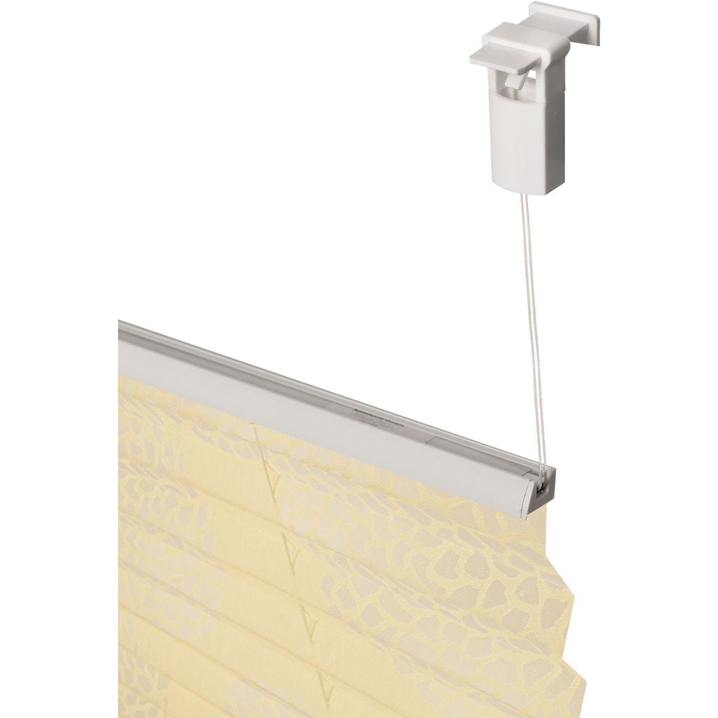 my home Plissee »BELUM«, Lichtschutz, ohne Bohren, verspannt, im Fixmass