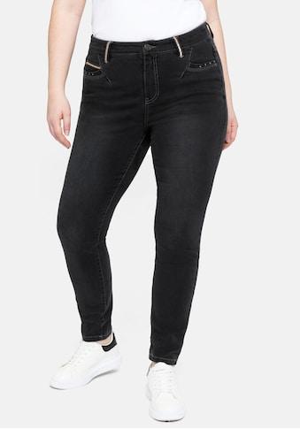 Sheego Stretch-Jeans, in Power-Stretch-Qualität kaufen