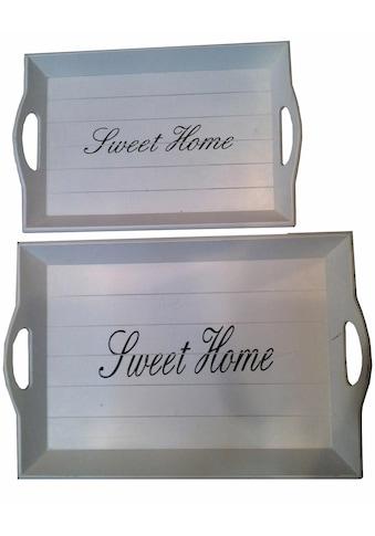 Home affaire Tablett »Sweet Home« kaufen