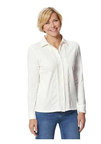 Classic Basics Jersey - Bluse mit Hemdblusenkragen kaufen