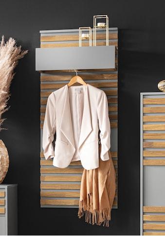 Places of Style Garderobenpaneel »Bertil«, 3 Haken aus Metall kaufen