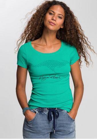 KangaROOS T-Shirt, mit grossem Label-Druck kaufen