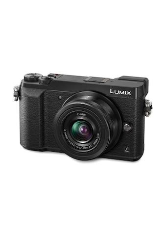 Fotokamera, Panasonic, »DMC - GX80KEG - K Kit« kaufen