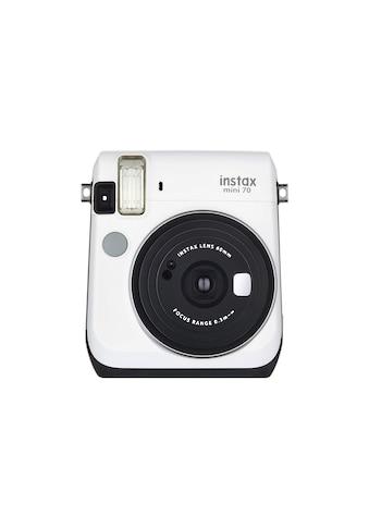 Fotokamera, Fujifilm, »Instax Mini 70 Weiss« kaufen