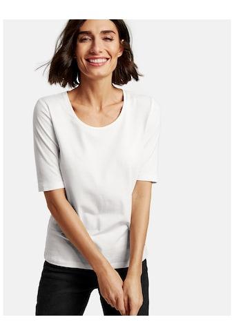 Taifun T - Shirt Kurzarm Rundhals »Basic - Shirt mit halbem Arm« kaufen