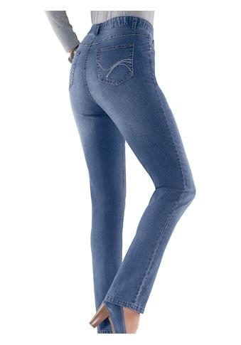 Classic Basics Jeans in klassischer 5 - Pocket - Form kaufen