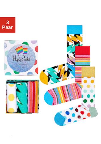 Happy Socks Socken Pride Box (Box, 3 Paar) kaufen