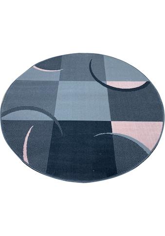 my home Teppich »Dylan«, rund, 7 mm Höhe, angenehm weich, Wohnzimmer kaufen