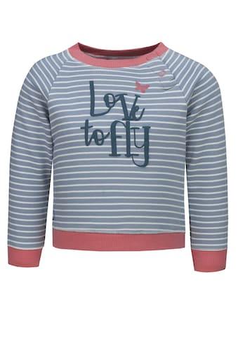 lief! Sweatshirt mit Streifen und Print kaufen
