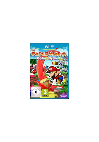 Nintendo Spiel »Paper Mario Color Splash«, Nintendo Wii, Standard Edition kaufen