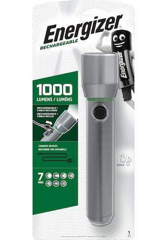 Energizer LED Taschenlampe »Vision HD Metall wiederaufladbar 1000 Lumen« kaufen