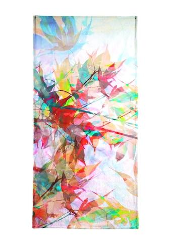 """Handtuch """"Abstract Autumn 2"""", Juniqe kaufen"""