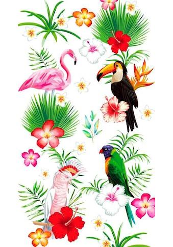 good morning Strandtuch »Paradise«, (1 St.), mit tropischem Motiv kaufen