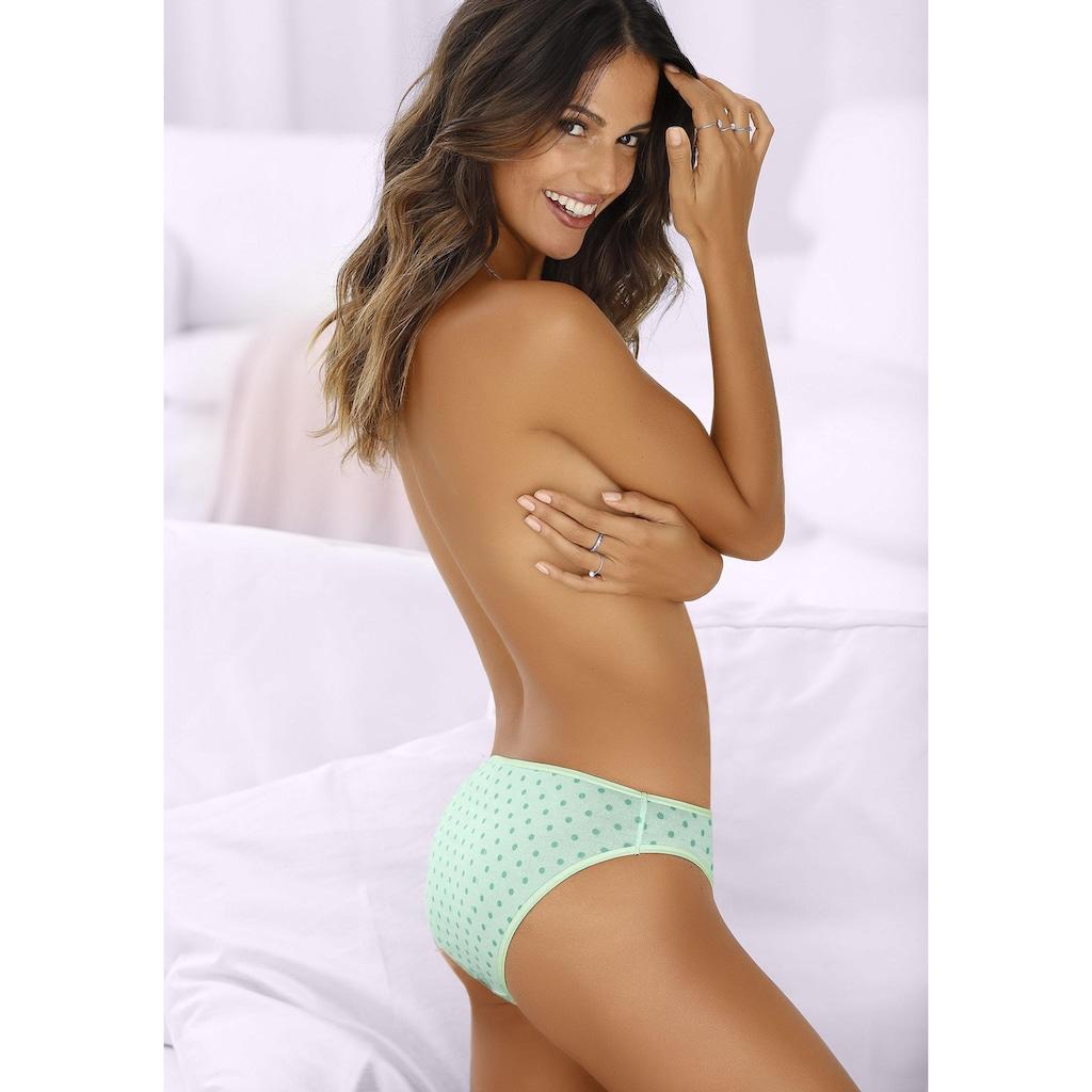 Go in Bikinislip, mit schönem Pünktchendruck