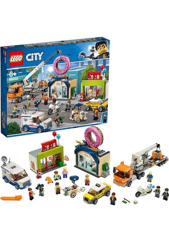 "LEGO® Konstruktionsspielsteine ""Grosse Donut - Shop - Eröffnung (60233), LEGO® City"", Kunststoff, (790 - tlg.) kaufen"
