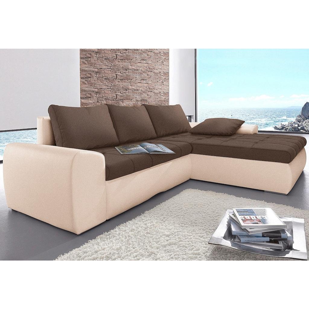 sit&more Ecksofa, XL