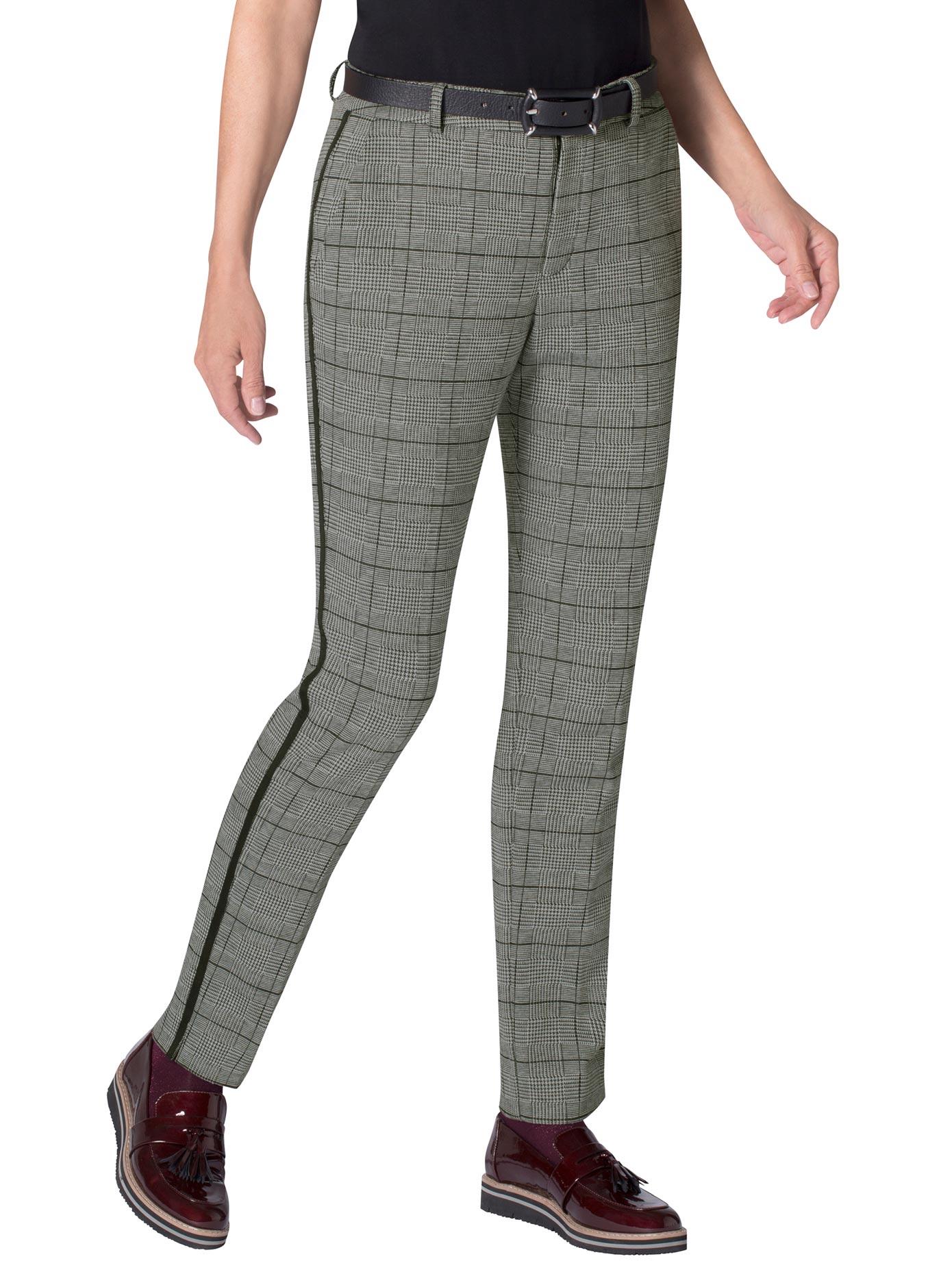 Image of Ambria Jersey-Hose mit Bügelfalten