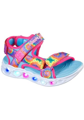 Skechers Kids Sandale »HEART LIGHTS SANDAL«, mit Batik-Print kaufen