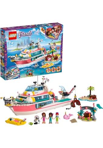 """LEGO® Konstruktionsspielsteine """"Boot für Rettungsaktionen (41381), LEGO® Friends"""", Kunststoff, (908 - tlg.) kaufen"""