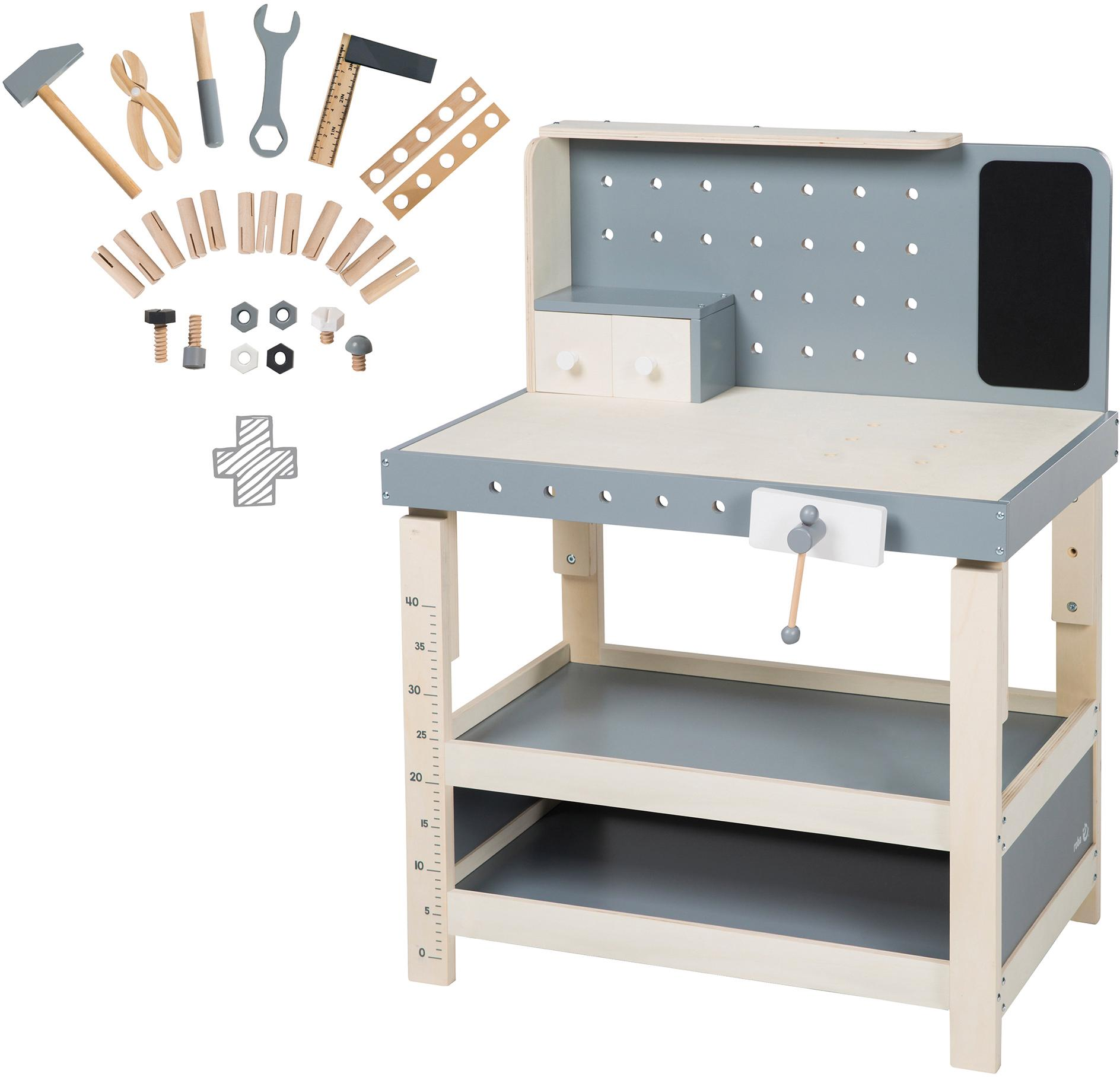 kinder werkbank toy preisvergleich die besten angebote online kaufen. Black Bedroom Furniture Sets. Home Design Ideas