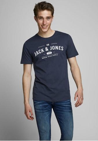 Jack & Jones T - Shirt »JEANS TEE« kaufen