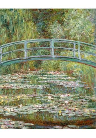 Home affaire Kunstdruck »MONET / Die japanische Brücke«, (auf Leinwand 60/3,5/80 cm) kaufen