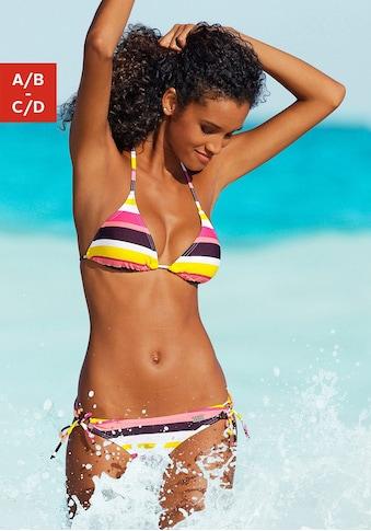 Buffalo Triangel-Bikini, im Streifendesign kaufen