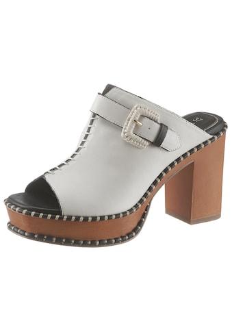 Tamaris High-Heel-Pantolette »Claudie«, im trendigen Retro-Look kaufen