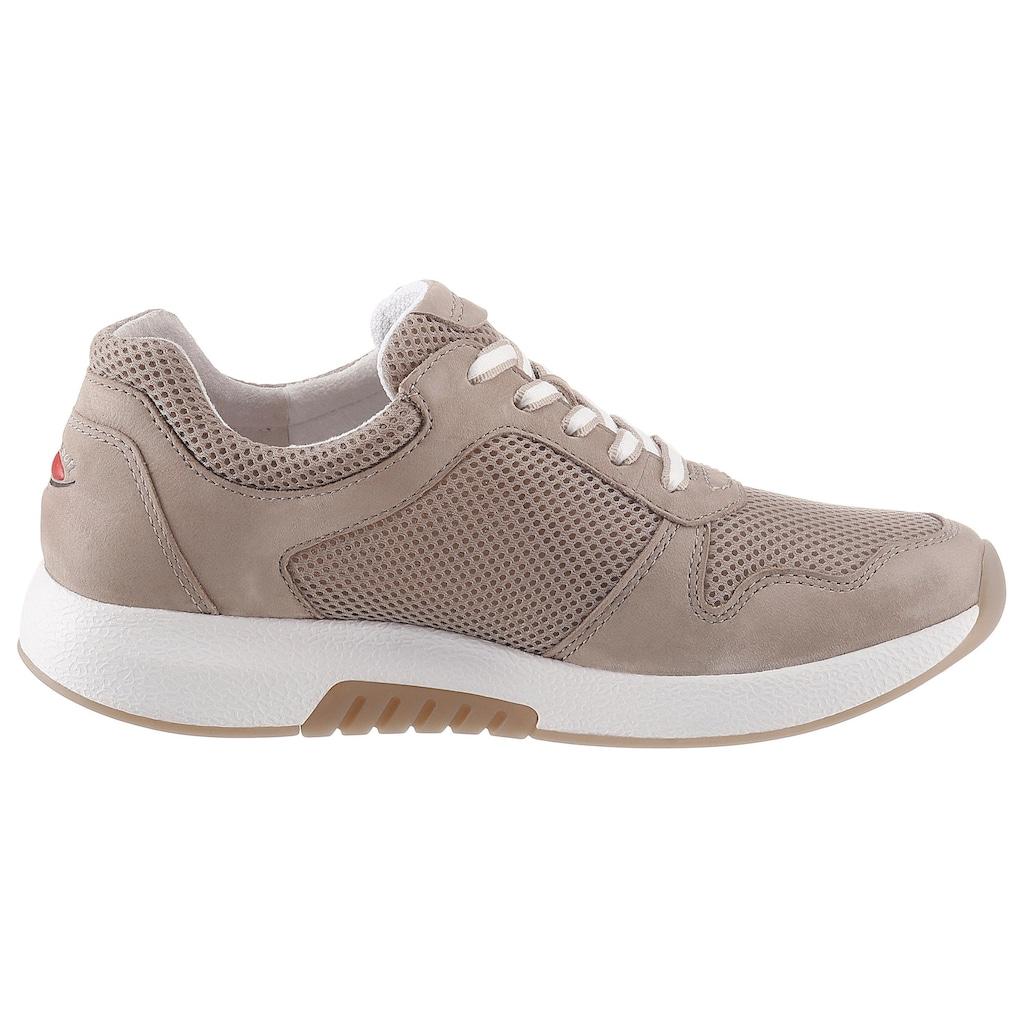 Gabor Rollingsoft Keilsneaker, in sommerlichem Materialmix