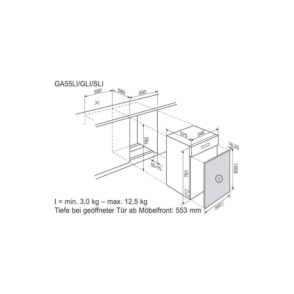 Elektrolux Unterbaugeschirrspüler »GA55GLISP A+++«, GA55GLISP